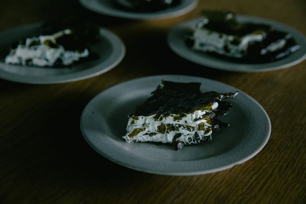 One Farmer / One Chef: Seaweed Mille-Feuille by Thomas Frebel of INUA